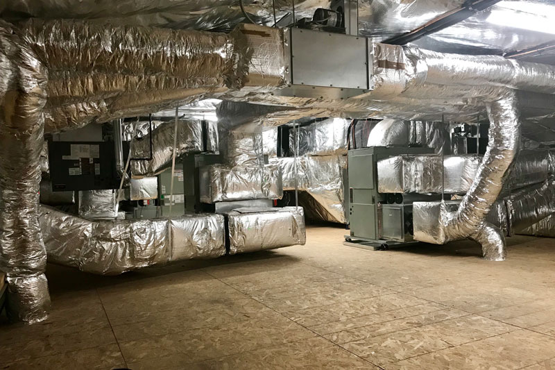 Commercial HVAC Project 7